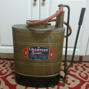 VTG 4-1/2gal Backpack Sprayer THE CHAMPION.
