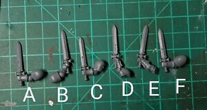 Space marine primaris Power Swords