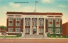 Chillicothe Missouri~City Hall~Fire Department Office~Recruit Poster~1940 Linen