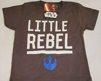 Star Wars New Little Rebel Licensed Kids T-Shirt