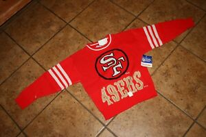 San Francisco 49ers Youth Size 5/6 Pullover Sweater new with tags