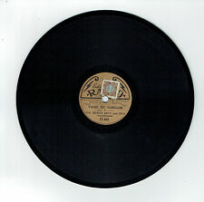 78T 20 cm Orch. Marius BRUN &DINO Accordén MIRLITONO Edison Bell RADIO 148 RARE