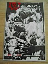 Gears of War Rise of Raam #1 2nd Print Sketch cover IDW HTF VF-