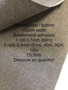 Tecnogiplast Feltrino Stiffener Interlining, Bag Making 150cm 0.7mm Fabric