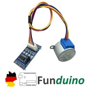 3x Schrittmotor 28BYJ-48 mit ULN2003A Treiber - für Arduino/RBP Mikrocontroller