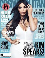 COSMOPOLITAN Magazine UK BRITISH Kim Kardashian NEW