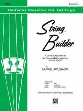 String Builder, Bk 1 : Violin by Samuel Applebaum