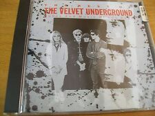 VELVET UNDERGROUND THE BEST. WORDS AND MUSIC OF LOU REED  CD MINT- AAD