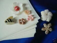 ~ Non-Stick Glue Sheets For Creating Shellcraft Flowers ~ Sailor's Valentines ~