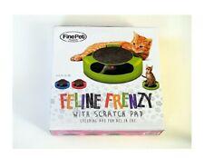 New listing Feline Frenzy - with Scratch Pad Cat Toy!