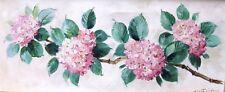 Manfred Feiler Ölgemälde Bild  Original Gemälde Landschaft Blumen