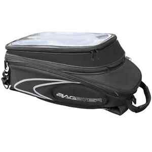 Bagster Evosign tank bag, expandable with straps Expands 20 - 30 liters NEW.