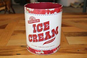 The Pioneer Women Sunnyville Ice Cream Bucket Tin