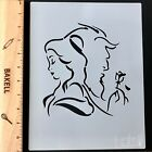 Disney Themed Beauty and the Beast Themed Print Decorating Stencil from Bakell