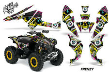 AMR Racing CanAm Renegade500/800/1000 Graphic Kit Wrap Quad Decal ATV All FRENZY