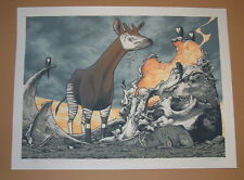 Aaron Horkey Jay Ryan NUNAVUT Art Print Poster Signed Numbered 2010
