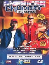 AMERICAN CHOPPER SECOND SEASON - 7-9 - THREE DVD BOX SET - FREE POST IN UK