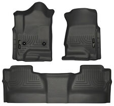 Husky Front & 2nd Seat Floor Liners Fits 15-18 Chevy Silverado 2500 HD 98231