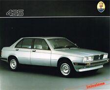 Maserati 425 iniezione Prospekt, 1987