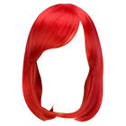 New Women Fashion Short Straight Multicolor Cosplay Hair Wig Anime Costume Party