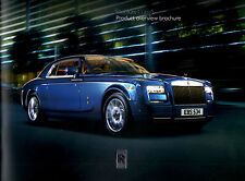Rolls Royce Phantom Coupe Softback Sales Brochure 21pgs