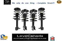 (2) Front+(2) Rear Quick Complete Struts & Coil Spring for 00-06 Hyundai Elantra
