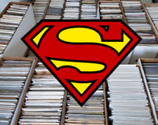 50 Comic Book HUGE lot - All DIFFERENT - Only Superman Comics - FREE Shipping!