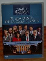 EL ALA OESTE DE LA CASA BLANCA 4ª TEMPORADA COMPLETA NUEVO 6 DVD SERIES R2