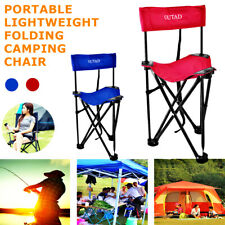 Folding Picnic Camping Fishing Chair Shelter Portable Backpacking Seat Triangle