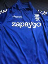 BIRMINGHAM CITY BLUE FOOTBALL SHIRT - SIZE L 2014-2015