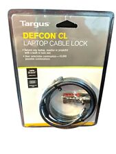 Targus Defcon Cl Laptop Notebook Cable Combination Lock New