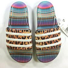 1a40532f9673 New WOMENS Adidas ADILETTE FARM Sandals Slides Flop Flops Leopard CM8223 a1