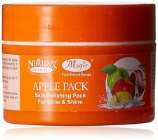 Nature's Essence Apple Face Pack - 60gm |Skin Polishing Pack for Glow & Shine