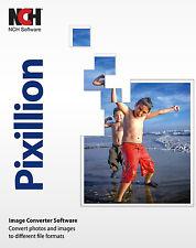 NCH  Pixillion Plus Premium converter  jpeg , jpg , gif , bmp, psd Watermarking