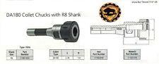 Bison Collet Chuck DA180+ Wrench Fits R8 Bridgeport