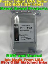 PFI-102 for Canon ipf 500 600 700 710 720 750 755 Matte Black pigment ink mbk dg