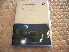 BMW OFFICIAL 3 5 6 7 SERIES M3 X3 X5 Z4 PRESS DVD USA CARS 2007 USA EDITION