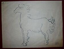 Gondouin Emmanuel dessin crayon sur papier art abstraction surréalisme cubisme