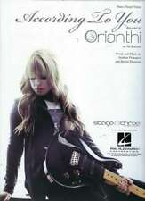 Orianthi According to You Sheet Music