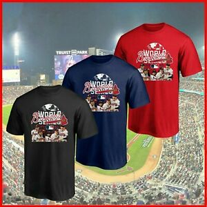 NEW!! Atlanta Braves 2021 National League Champs T-Shirt Gift For Fans S-5XL