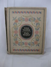 Will Vesper, bonne fantômes, 1921, Gerhard Schilling Verlag