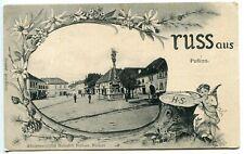 "1904 Austria  ""Gruss aus Pulkau"",animated,attractive postcard"