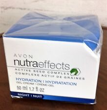 Avon Nutraeffects Active Seed Complex Hydration Gel Cream 1.7 fl.oz.NIB