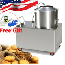 Commercial Potato Peeler Automatic Sweet Potato Peeling&Wash Machine+ Free Gift