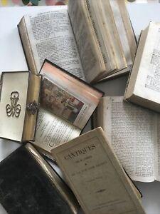lot livres anciens de religion catholique Missel Paroissien Romain