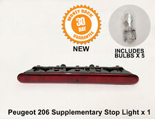 Peugeot 206 Auxiliary Third Brake Supplementary Rear Stop Light 6350K5 New X 1