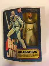 BIG JIM DR. BUSHIDO Mattel 3247 new in box MIB vintage action figure