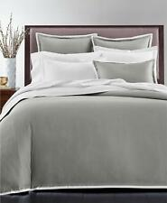 Charter Club Sleep Luxe 2 Pc Twin Duvet Cover Set Charcoal $260