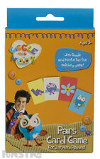 Giggle and Hoot Pairs Card Game Kids Girls Boys Toy 36 Cards Hootabelle Owl New
