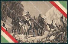 Militari Coloniali Africa Tricolore Ascari cartolina XF2990